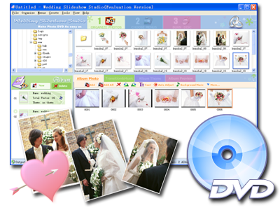 Wedding Slideshow Software Overview